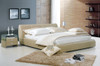QUEEN ANTOINE LOUIS LEATHERETTE BED (A9005) - ASSORTED COLOURS