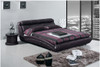 KING TERENCE LEATHERETTE BED (A9010) - ASSORTED COLOURS