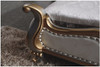 VAN DIRK KING 3 PIECE BEDSIDE BEDROOM SUITE WITH (#100 BEDSIDES) - LEATHERETTE - ASSORTED COLOURS