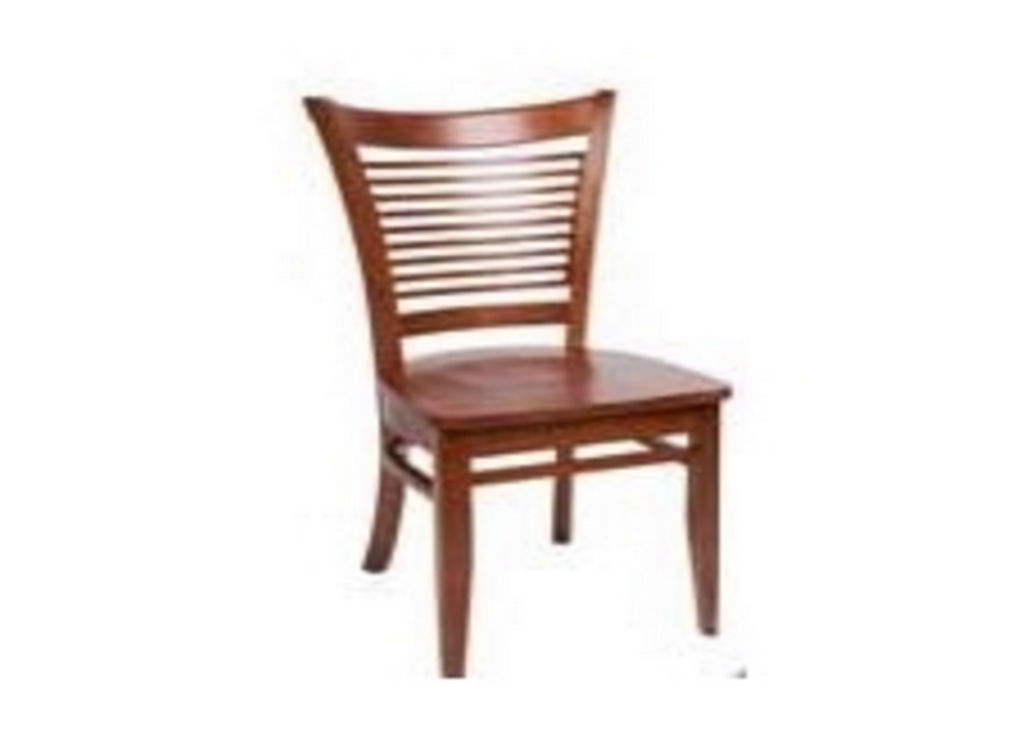 LOTUS DINING CHAIR WITH TIMBER SEAT (LOT CH 1PA T) - ANTIQUE OAK