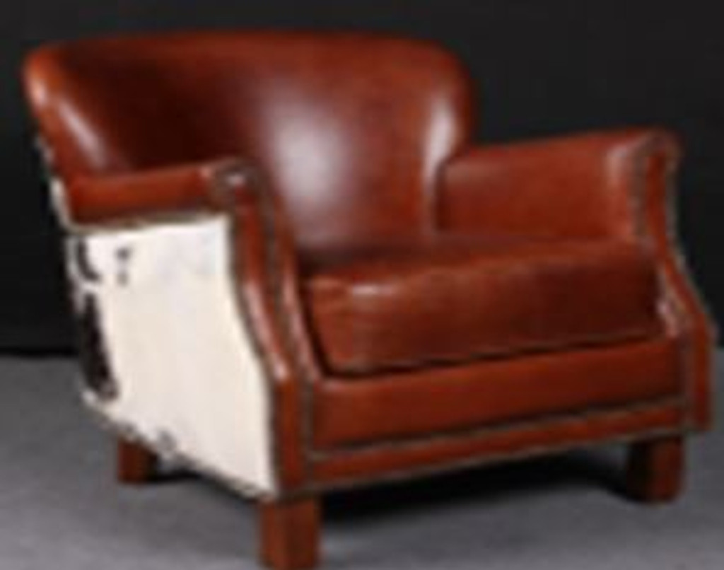NORCIA (2005) 1 SEATER FULL LEATHER CHAIR