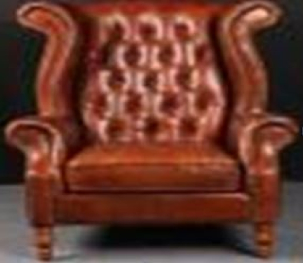 CATANZARO (2033) 1 SEATER  CHAIR  -  FULL LEATHER