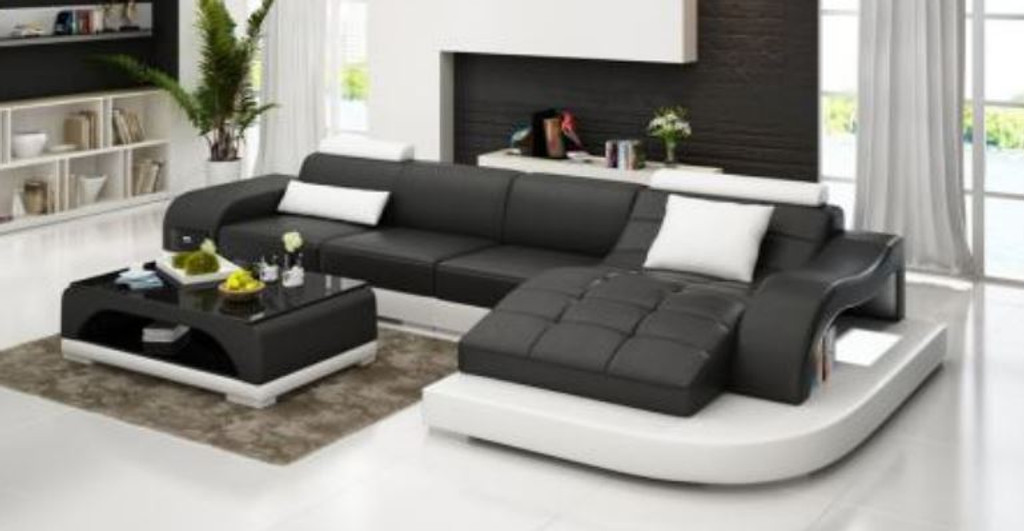 SOPHIA BONDED LEATHER CHAISE   LOUNGE ( MODEL-G1105B) - CHOICE OF LEATHER AND ASSORTED COLOURS AVAILABLE