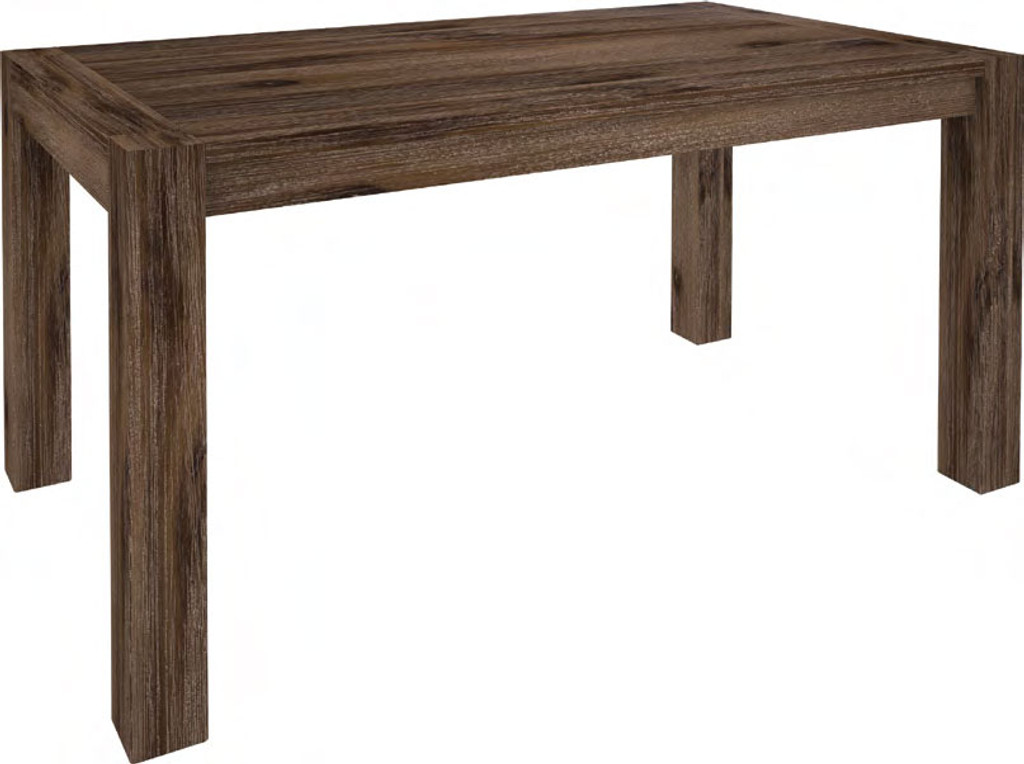 MORAYA (MOD-1002) DINING TABLE ONLY - 1800(W) X 900(D) - WENGE