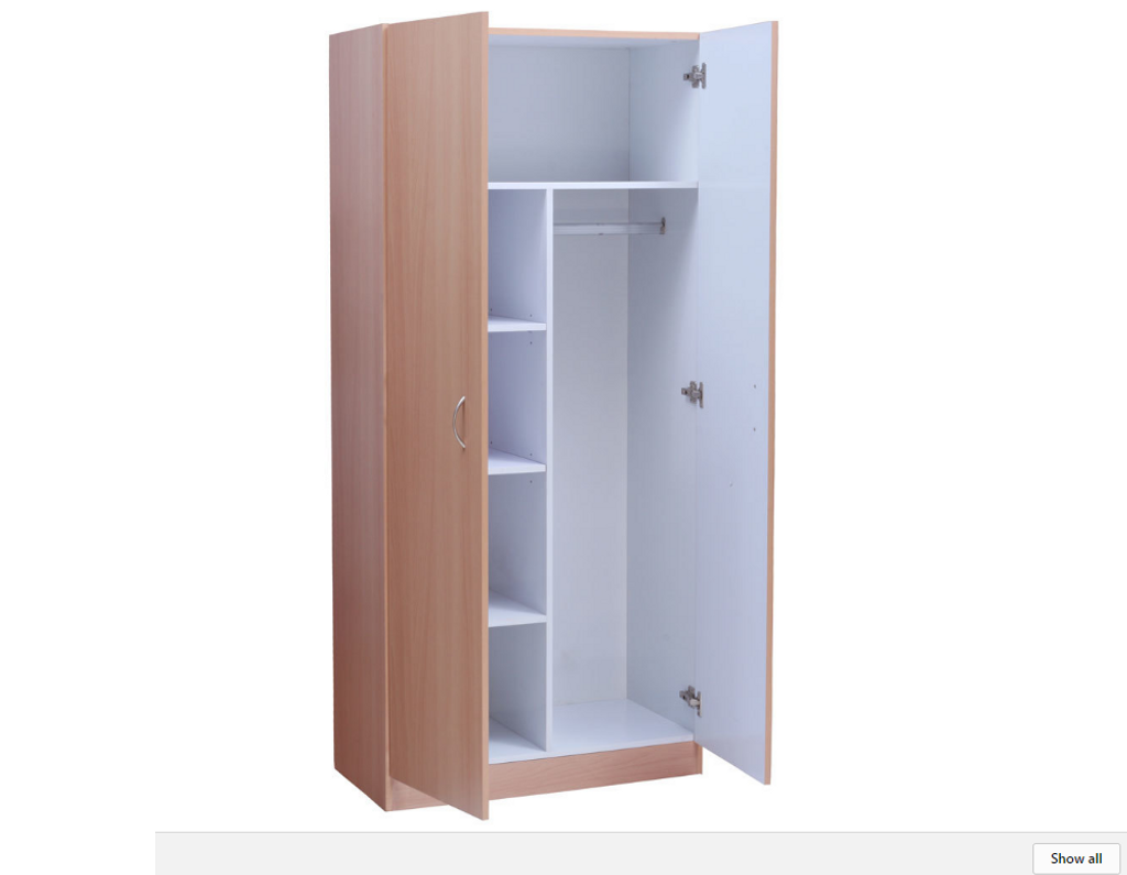 MISSION PANTRY COMBO -  1800(H) X 800(W)  - OAK(PICTURED IN BEECH)