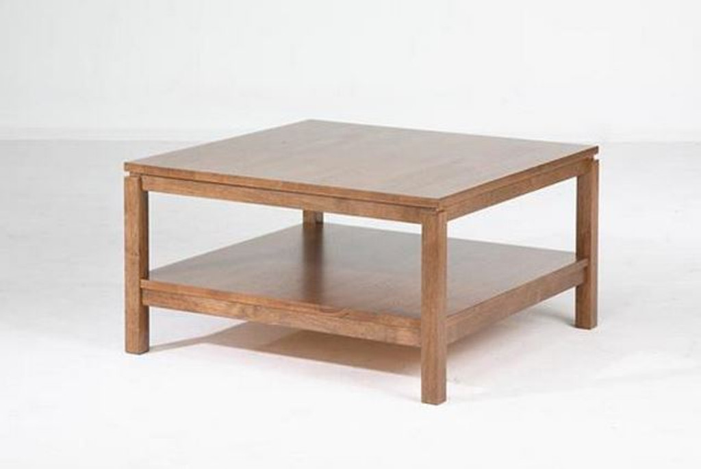 CUBIST (VCT-015) COFFEE TABLE -430(H) X 800(W) X 800(D) -  NATURAL