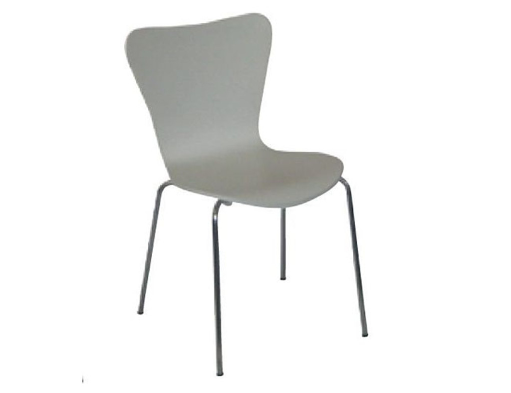 CLEMENT DINING   CHAIR  -  WHITE