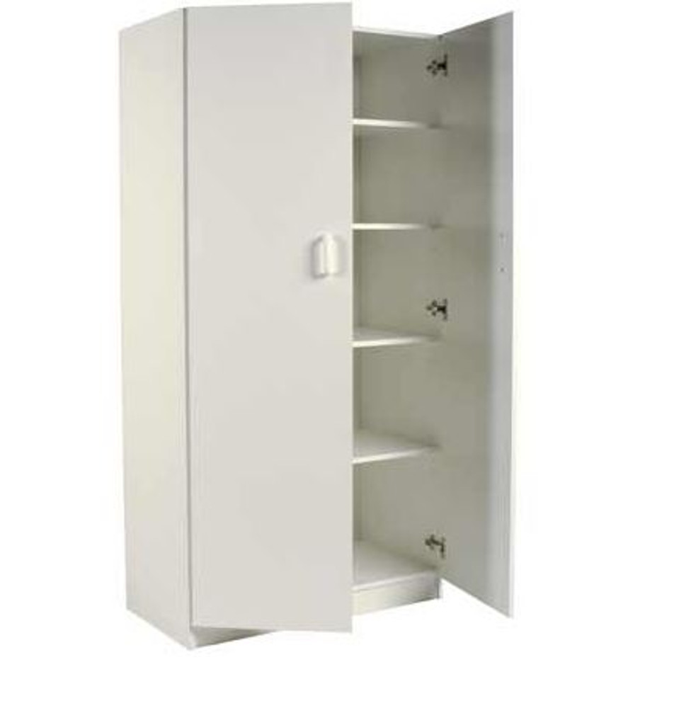 SQUARE EDGE (600L) 2 DOOR LINEN & PANTRY CUPBOARDS -1800(H) X 600(W) - ASSORTED COLOURS AVAILABLE