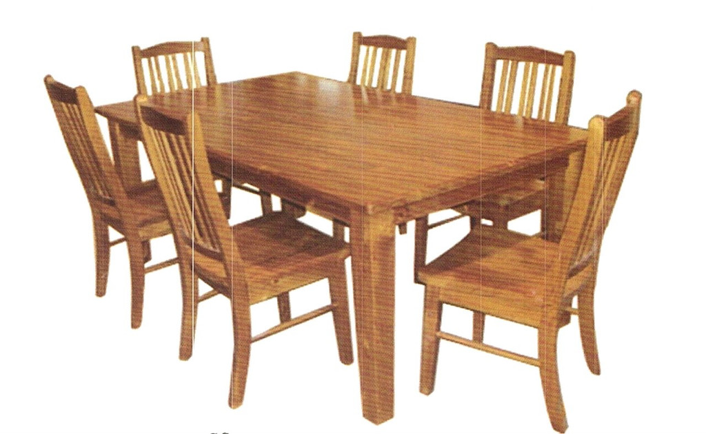 TAPERED LEG SQUARE DINING TABLE ONLY - 1500(W) X 1500(D) - (NOT AS PICTURED) - IMPORT COLOUR