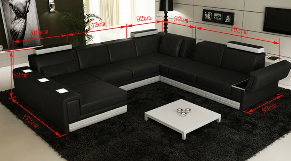 MASSIMO (G1064) 2 SEATER + 3 SEATER LEATHER/ETTE COMBINATION CORNER CHAISE SUITE - ASSORTED COLOURS