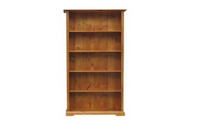 BOUYLIN  6 * 3  BOOKCASE - 1800(H) * 900(W)  - (  MODEL -8-5-18-9-20-1-7-5) AVAILABLE IN CHESTNUT OR WALNUT
