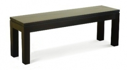 RPN DINING BENCH (BE-158-35-RPN) - MAHOGANY OR CHOCOLATE - 1580(W) - (MODEL 1-13-19-20-5-18-4-1-13)