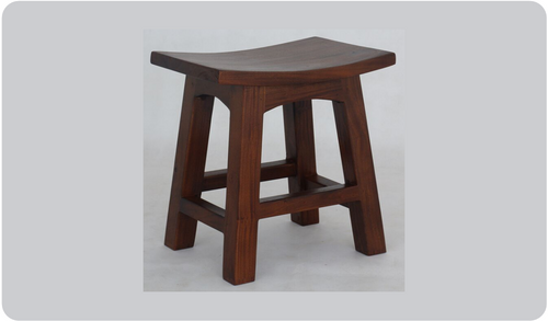 ZIMA WOODEN BAR STOOL (BR 048 WD) - SEAT: 480(H) - MAHOGANY OR CHOCOLATE