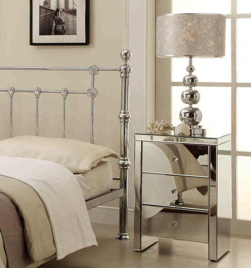 MONACO (BE-828) BEDSIDE - CLEAR MIRROR