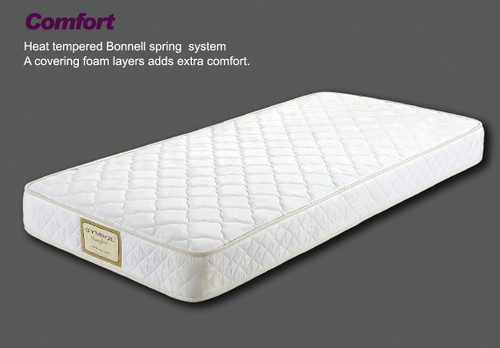 SINGLE COMFORT ENSEMBLE - (BASE & MATTRESS) - MEDIUM FIRM