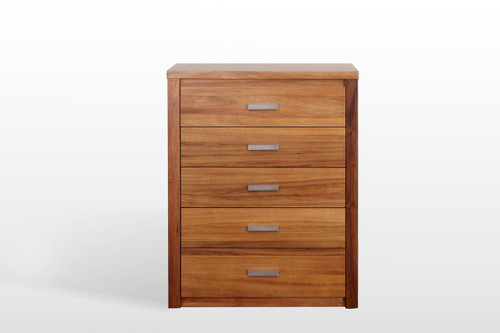 VODKA (217) 5 DRAWER TALLBOY - NATURAL