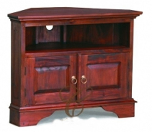 TASMANIA  2 DOOR CORNER TV STAND ( TV 200 PN CNR)  - 900(W) -MAHOGANY OR CHOCOLATE