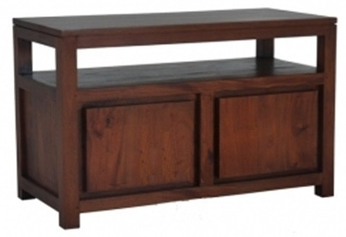 AMSTERDAM 2 DOOR TV STAND (TV 200 TA) - 970(W) -  MAHOGANY OR CHOCOLATE