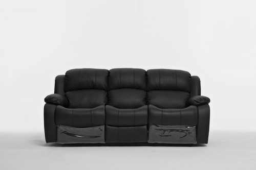 KACEY 3RR RECLINER - LEATHER/LEATHERETTE COMBINATION