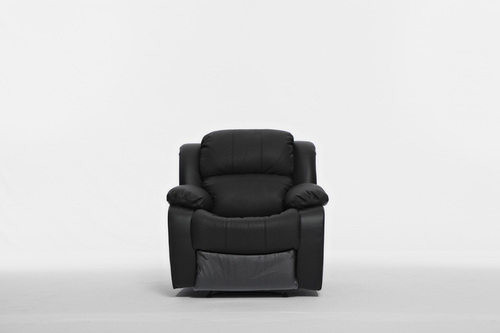 KACEY RECLINER CHAIR - LEATHER/LEATHERETTE COMBINATION