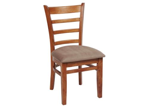 JAGUAR DINING CHAIR (JAG CH 1PA) - ANTIQUE OAK / MOCHA SEAT