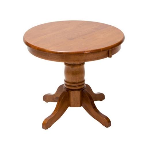 JAGUAR LAMP TABLE (JAG PL 60 60 1PA) - ANTIQUE OAK
