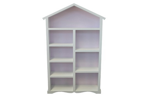 PRINCESS KIDS BOOKCASE - 1900(H) x 900(W) - PRICED IN ASSORTED COLOURS (VIC ASH AND PINE OPTIONS ALSO AVAILABLE - PRICE ON APPLICATION) - CUSTOMISATION AVAILABLE
