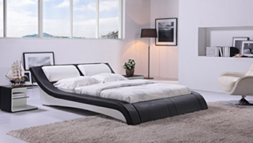 QUEEN BOLOGNA (G883) LEATHERETTE BED - ASSORTED COLOURS AVAILABLE