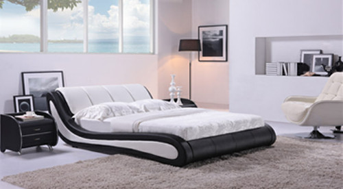 KING CATANIA (G888) LEATHERETTE BED - ASSORTED COLOURS AVAILABLE