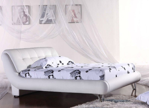 QUEEN (G894#) LEATHERETTE BED - ASSORTED COLOURS AVAILABLE