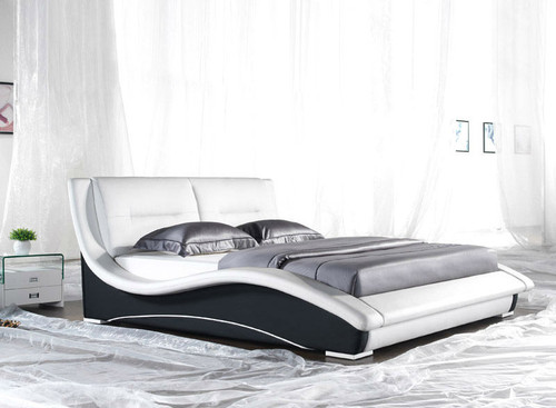 QUEEN (2840B#) LEATHERETTE BED - ASSORTED COLOURS AVAILABLE