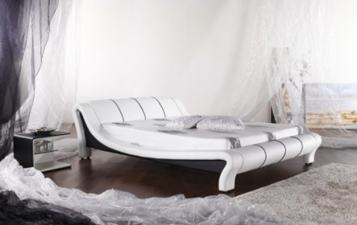 QUEEN (G935#) LEATHERETTE BED - ASSORTED COLOURS AVAILABLE