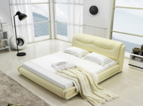 QUEEN (G984#) LEATHERETTE BED - ASSORTED COLOURS AVAILABLE