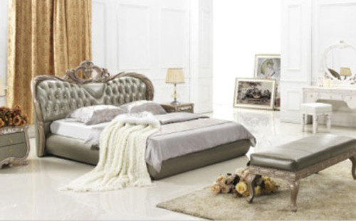 KING (7#) LEATHERETTE BED - ASSORTED COLOURS AVAILABLE