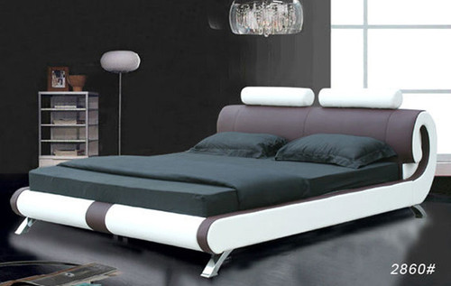 KING (2860#) LEATHERETTE BED - ASSORTED COLOURS AVAILABLE