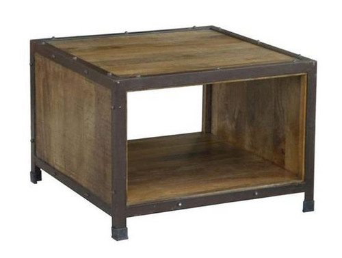 MONTEGO (MG-013) LAMP TABLE - ANTIQUE NATURAL