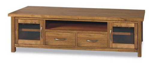 RADIUS  (VTO-027) 2 DOOR ENTERTAINMENT UNIT WITH 2 DRAWERS (MODEL 20-15-19-3-1-14-1) - 2230(W)