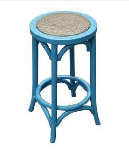 BARISTA (VBR-019-B) KITCHEN STOOL - BLUE