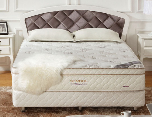 KING DELUXE EURO TOP POCKET SPRING MATTRESS WITH LATEX - MEDIUM