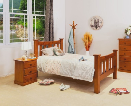 KING SINGLE CARRIE BED (002ML)