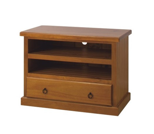 A15 (LOCAL MAKE) LOWLINE TV UNIT WITH 1 DRAWER - 900(W)