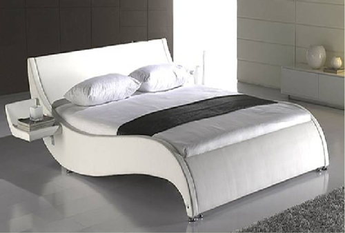 ALTHEA (1013) DOUBLE OR QUEEN 3 PIECE BEDSIDE BEDROOM SUITE WITH (#25 BEDSIDES) - LEATHERETTE - ASSORTED COLORS