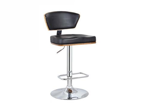 RIO BARSTOOL - SEAT: 900(H) - WALNUT VENEER + BLACK