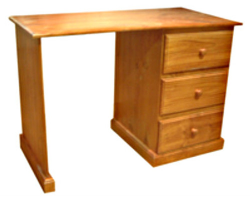 DRAGON 3 DRAWER STUDENT DESK - 1400(W) X 600(D) - ASSORTED COLOURS