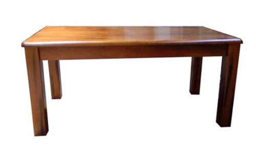 CENTURY 1.8 (CFF18T) DINING TABLE ONLY (WITHOUT DINING CHAIRS) - 1800(W) X 900(D) - NUTMEG (#216)