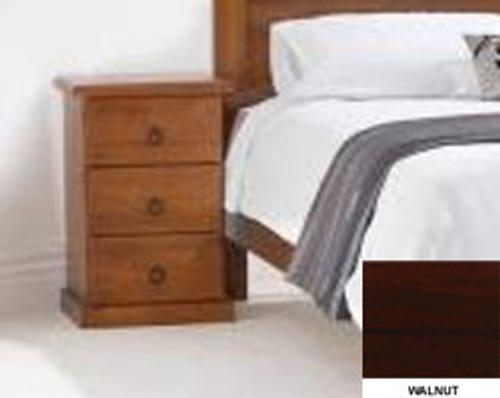 TORONTO BEDSIDE (MODEL 11-1-20-5)  - BLACKWOOD OR WALNUT