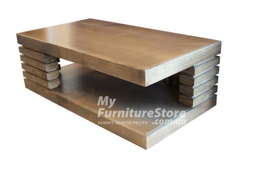HUGO COFFEE TABLE - 1200(W) x 600(D) - ASSORTED COLOURS