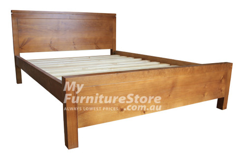 QUEEN CELINE BED - WHITE OR ANTIQUE WHITE (NOT AS PICTURED)