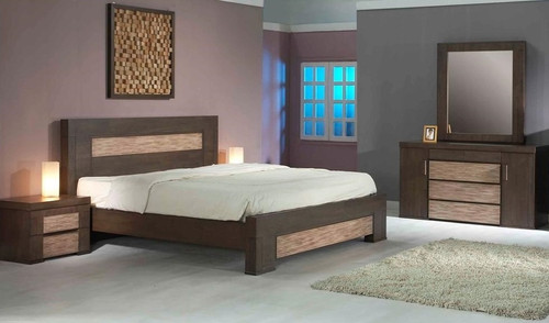 CHENIN QUEEN 5 PIECE DRESSER BEDROOM SUITE - ASHTON CASTLE