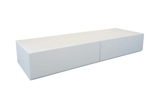 LINDA UNDERBED STORAGE DRAWERS ONLY - 1460(W) x 480(D) - WHITE , DARK CHOCOLATE OR WALNUT , AGED OAK